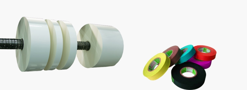 Cutting nonwoven tapes